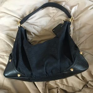 REPOSH - Authentic Gucci Jockey Hobo Bag